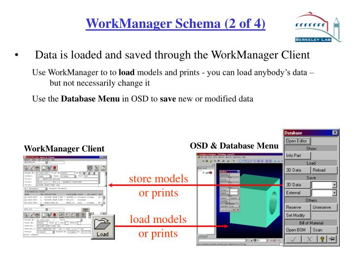 OSD & Database Menu