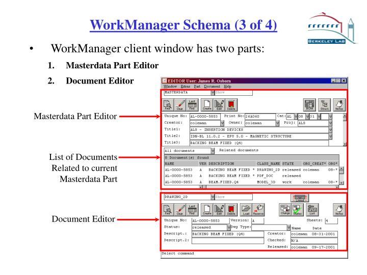 Masterdata Part Editor