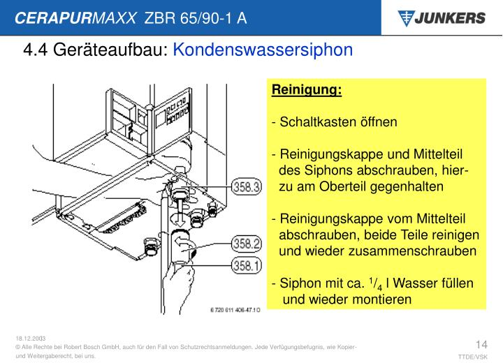 4.4 Geräteaufbau: