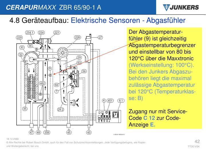 4.8 Geräteaufbau: