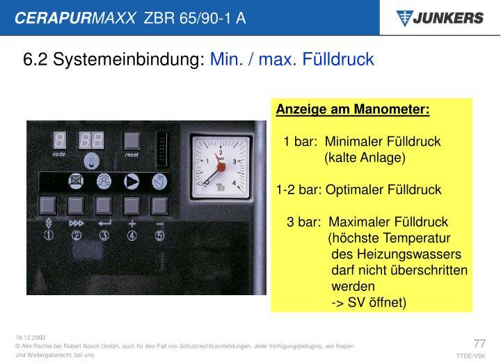 6.2 Systemeinbindung: