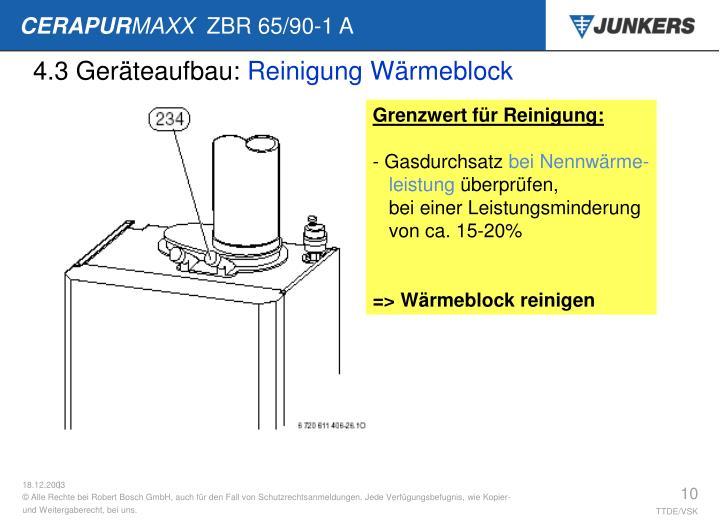 4.3 Geräteaufbau: