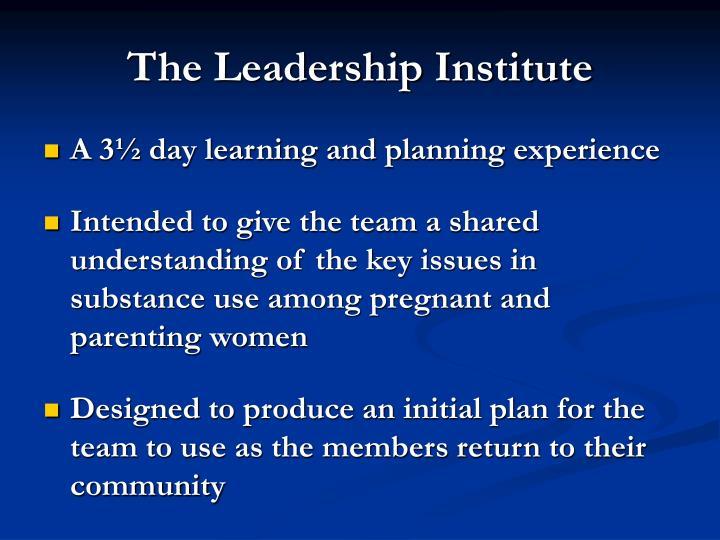 The Leadership Institute