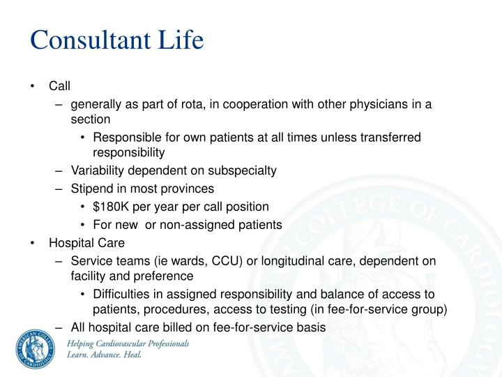 Consultant Life
