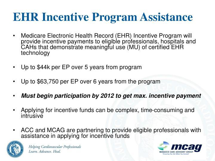 EHR Incentive Program Assistance