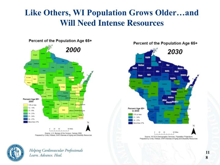 Like Others, WI Population Grows Older…and Will Need Intense Resources