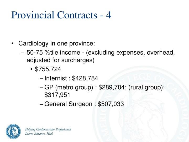 Provincial Contracts - 4