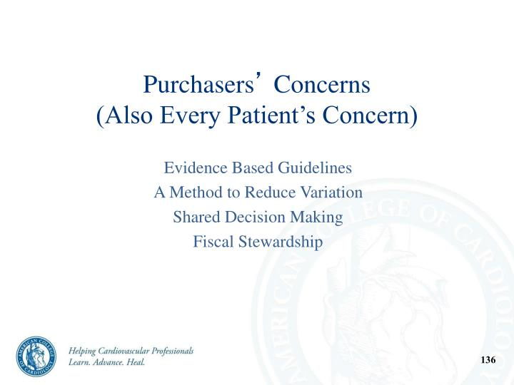 Purchasers