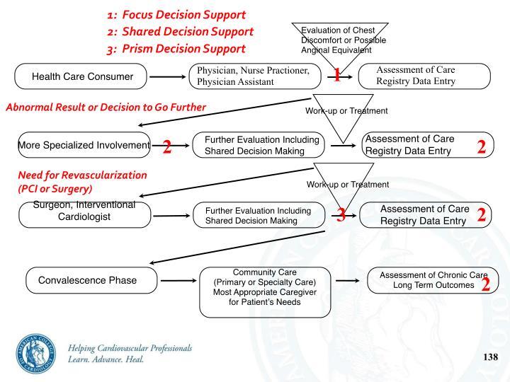 1:  Focus Decision Support