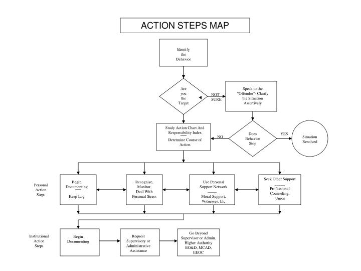 ACTION STEPS MAP