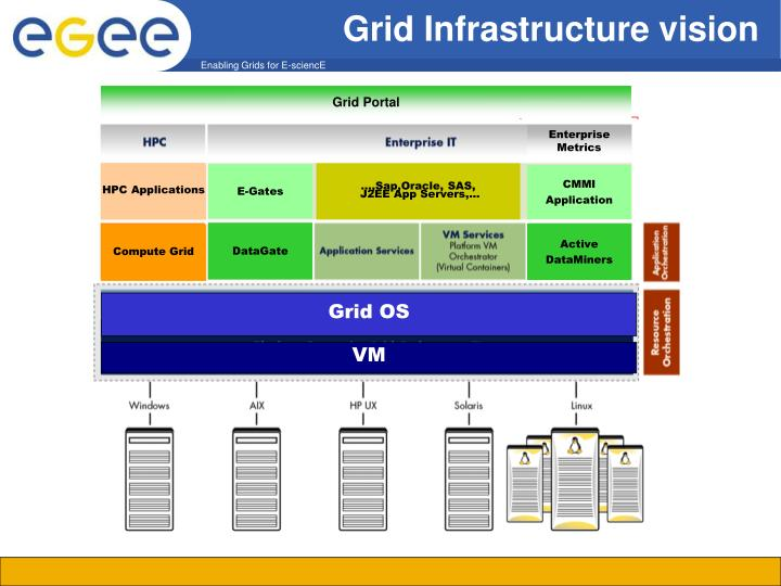 Grid Infrastructure vision