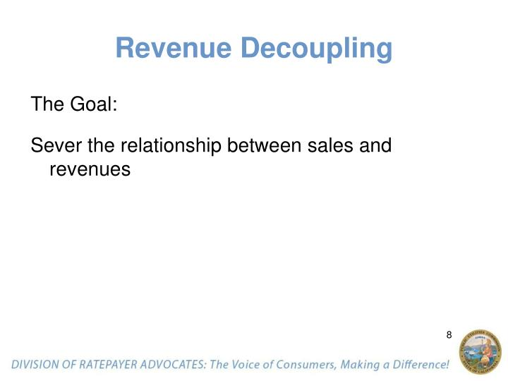 Revenue Decoupling