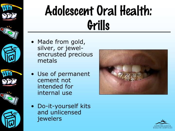 Adolescent Oral Health: