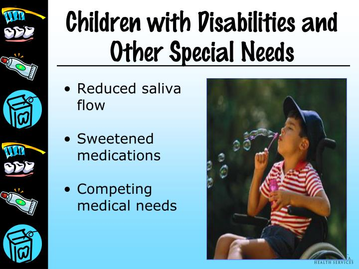 Children with Disabilities and Other Special Needs