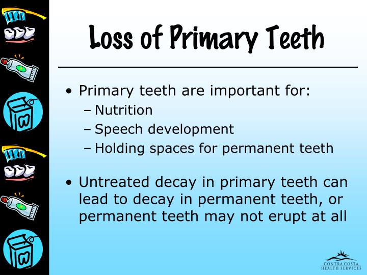 Loss of Primary Teeth