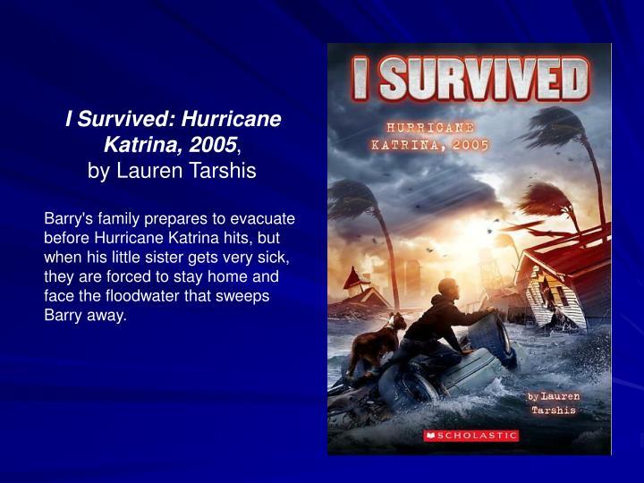 I Survived: Hurricane Katrina, 2005