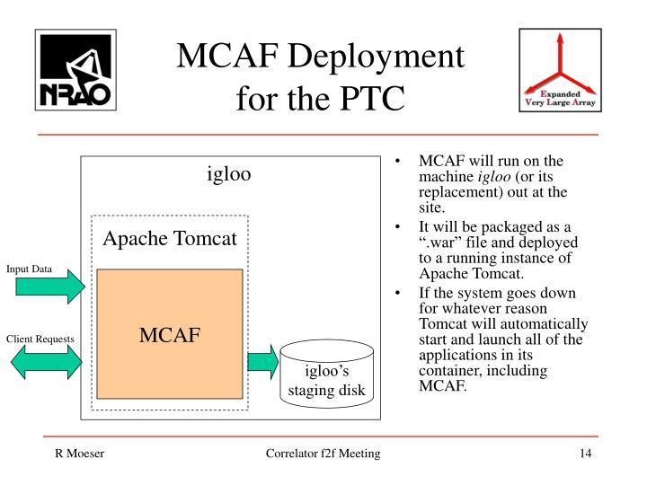 MCAF will run on the machine