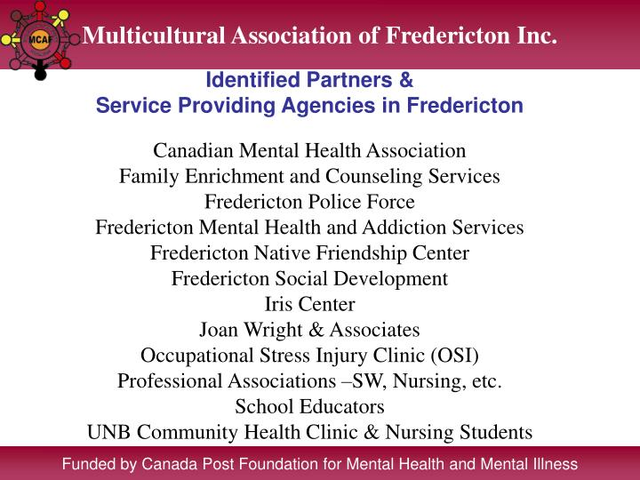 Multicultural Association of Fredericton Inc.