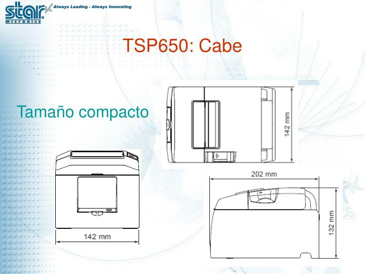 TSP650: Cabe