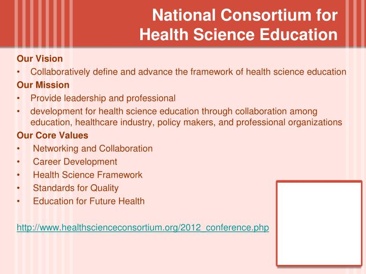National Consortium for