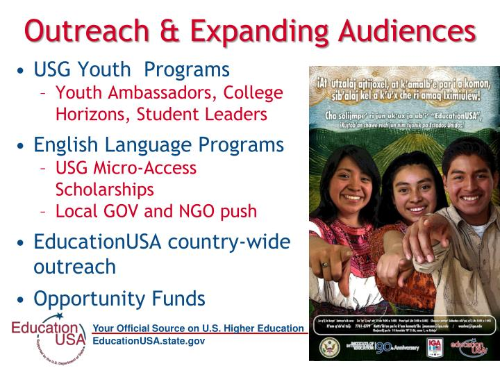 Outreach & Expanding Audiences