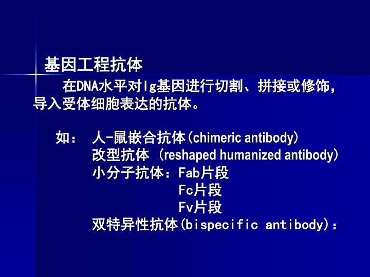 基因工程抗体