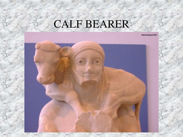 CALF BEARER