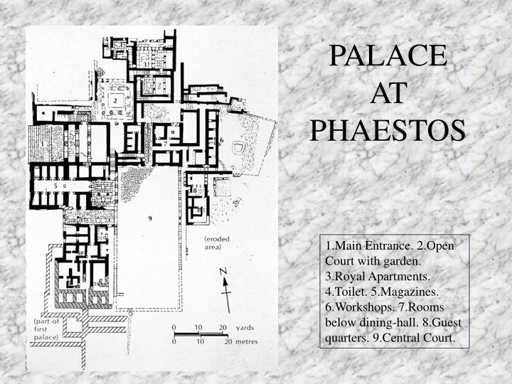 PALACE AT PHAESTOS