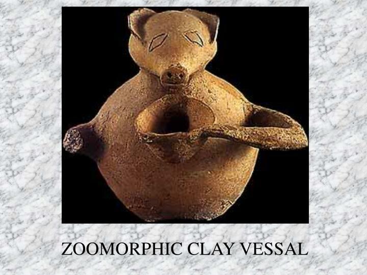 ZOOMORPHIC CLAY VESSAL