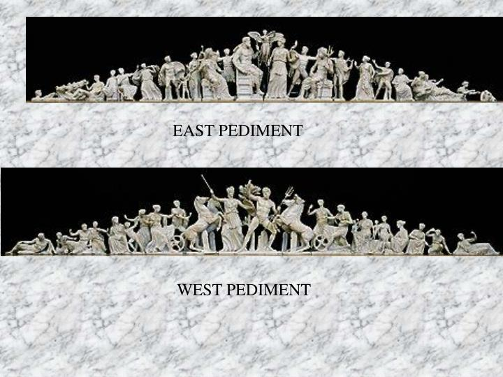 EAST PEDIMENT