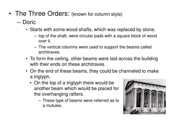 The Three Orders: