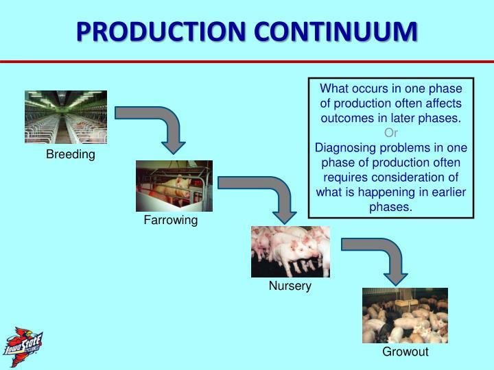 PRODUCTION CONTINUUM