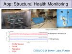 app structural health monitoring