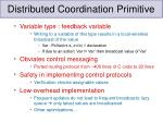 distributed coordination primitive