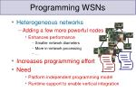 programming wsns1