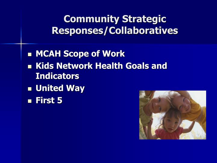 Community Strategic Responses/Collaboratives