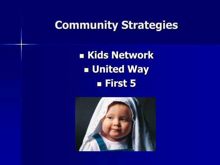 Community Strategies