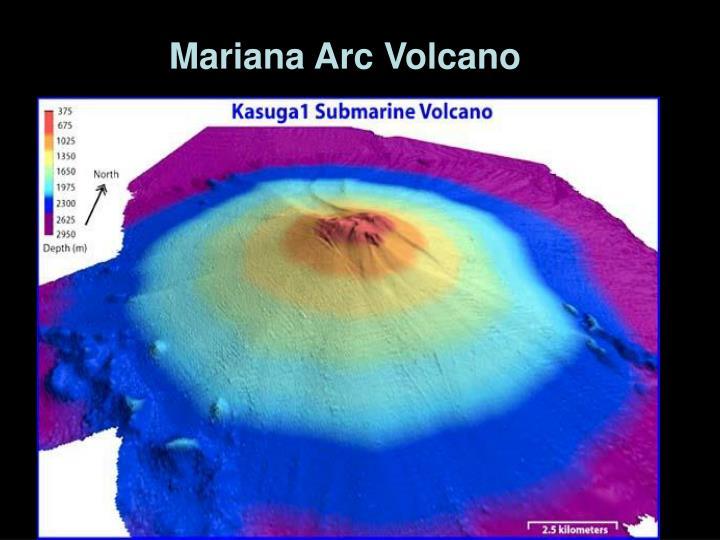 Mariana Arc Volcano