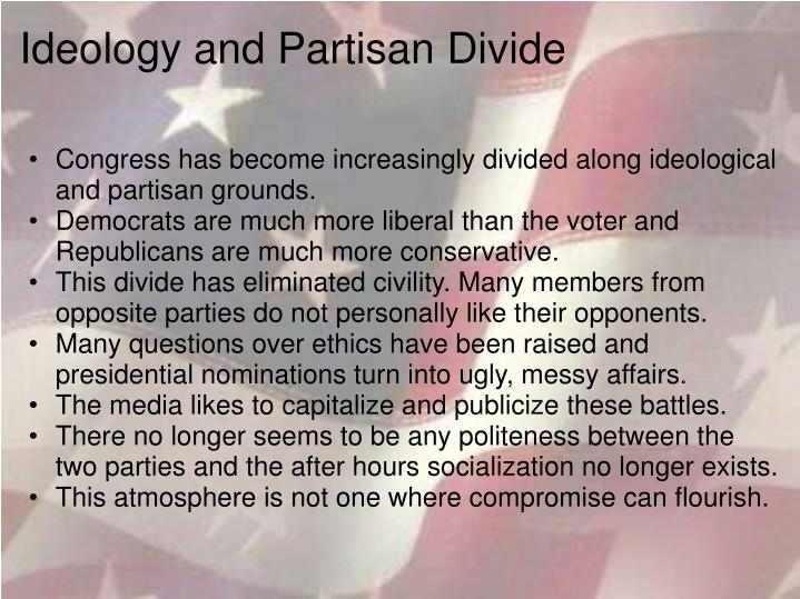 Ideology and Partisan Divide
