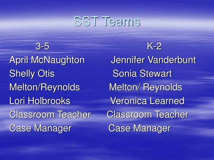 SST Teams