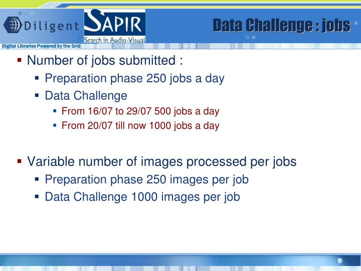 Data Challenge : jobs