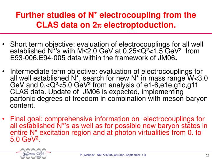 Further studies of N* electrocoupling from the CLAS data on 2