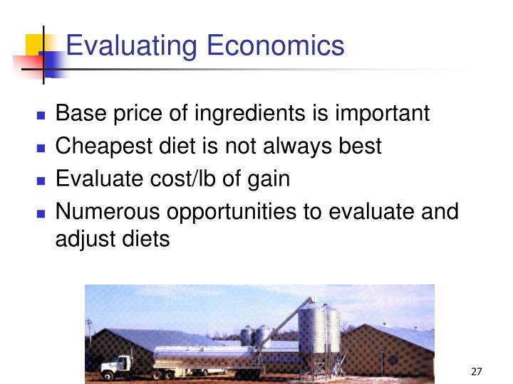 Evaluating Economics