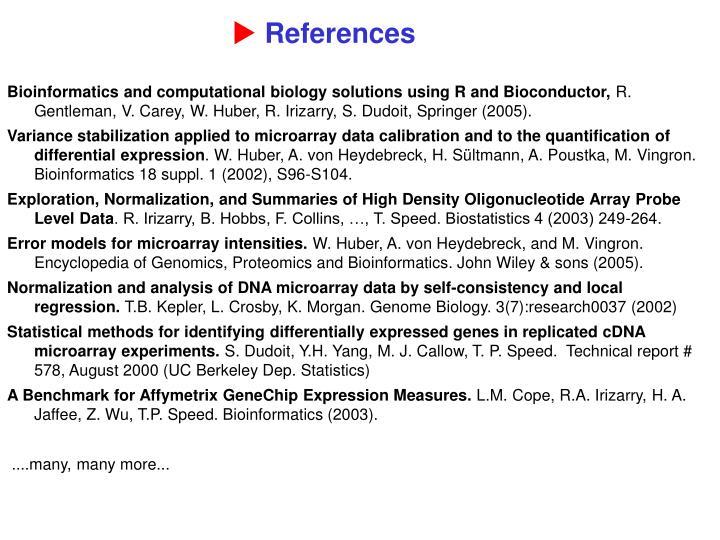 Bioinformatics and computational biology solutions using R and Bioconductor,