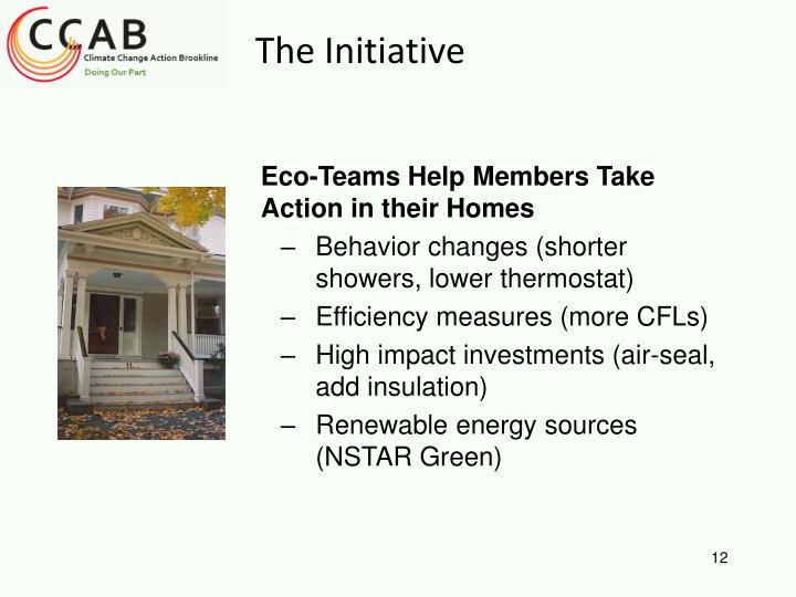 Eco-Teams Help Members Take Action in their Homes