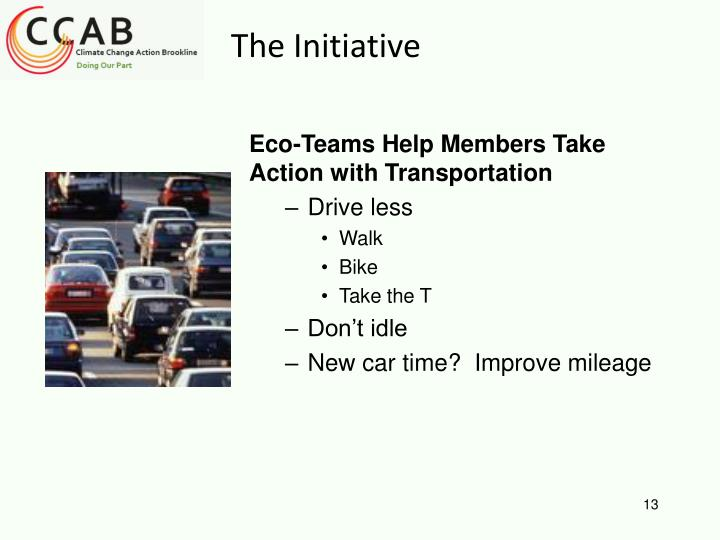 Eco-Teams Help Members Take Action with Transportation