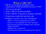 what is mcas