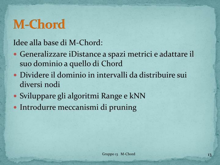 M-Chord