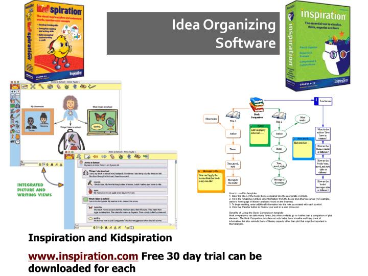 Idea Organizing Software