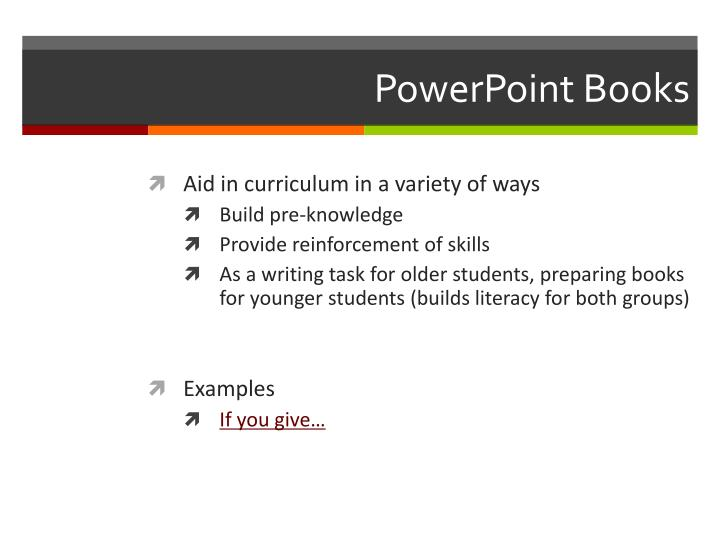 PowerPoint Books